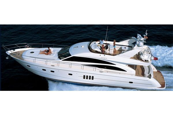 Princess 67 Flybridge Manufacturer Provided Image: Exterior View 3