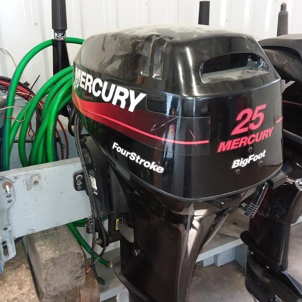 Mercury 25 ELH BF 4S