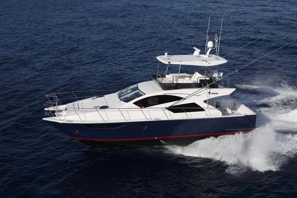 Mares 45 Catamaran Yacht Fish Profile
