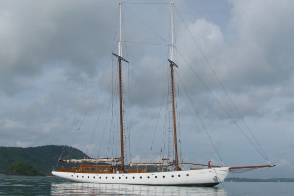 Custom Grand Banks Schooner Photo 1
