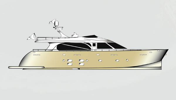 Moonen STYLE Perfect Displacement yacht