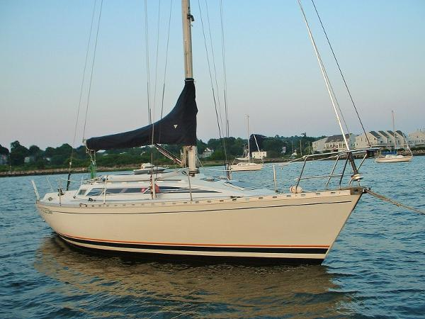 Beneteau First 345 Port Bow in Water