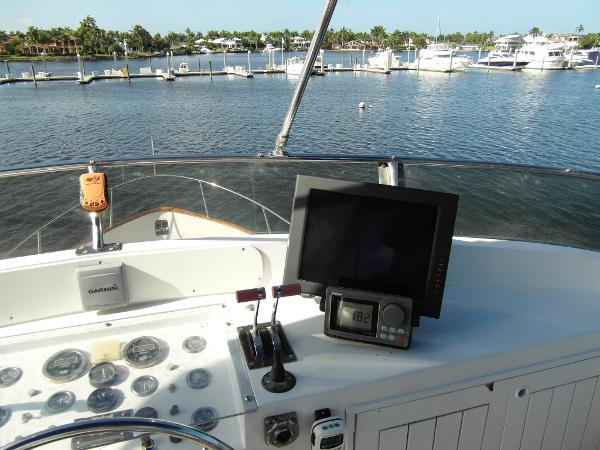 View From Captain's Chair
