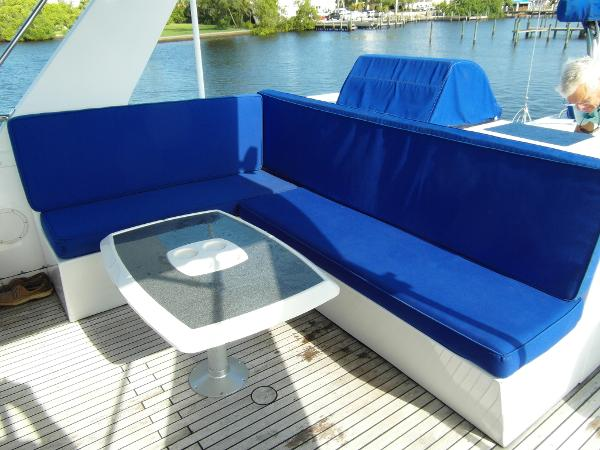Bridge Seating Facing Starboard