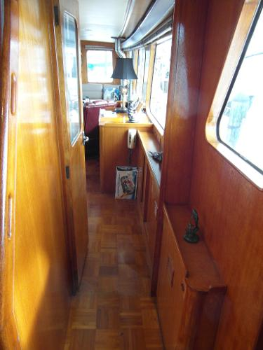 Portside Pilothouse Facing Aft