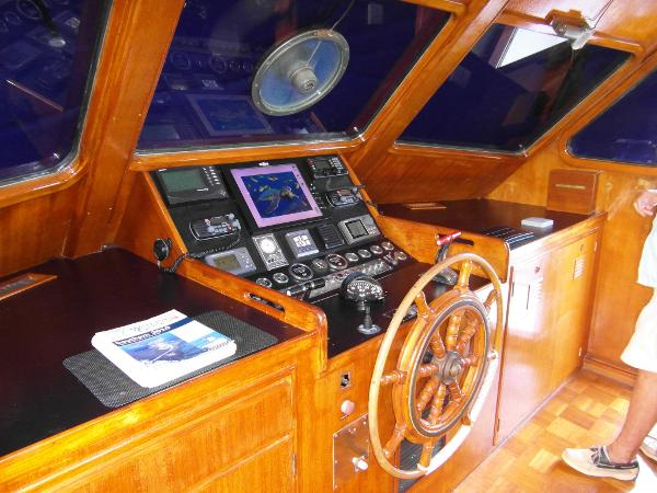 Pilothouse Facing Starboard