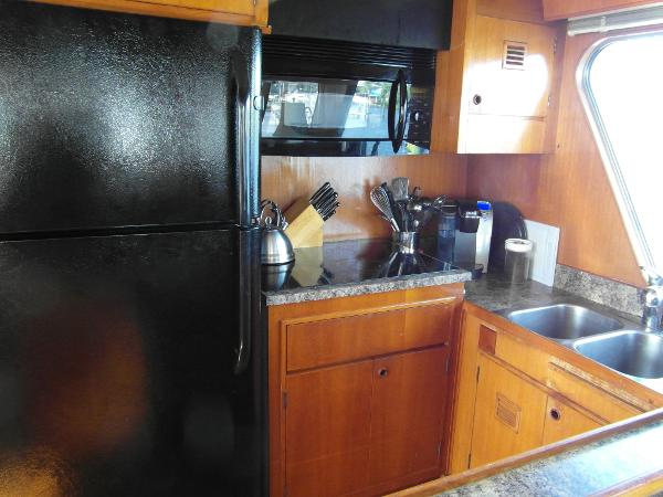 Starboard Galley Facing Forward