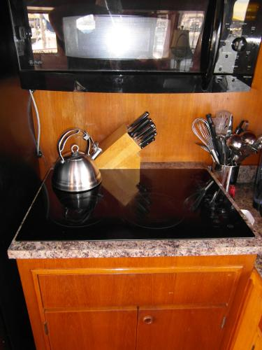 GE Glass Cooktop Stove