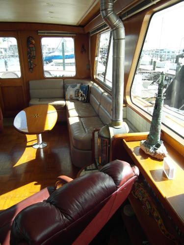 Portside Saloon Looking Aft