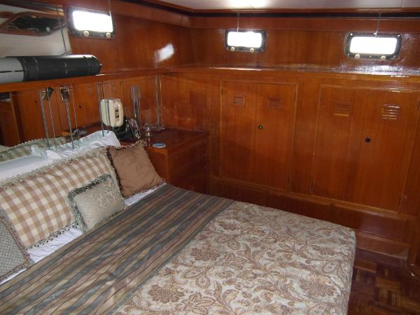 Master Stateroom Facing to Port