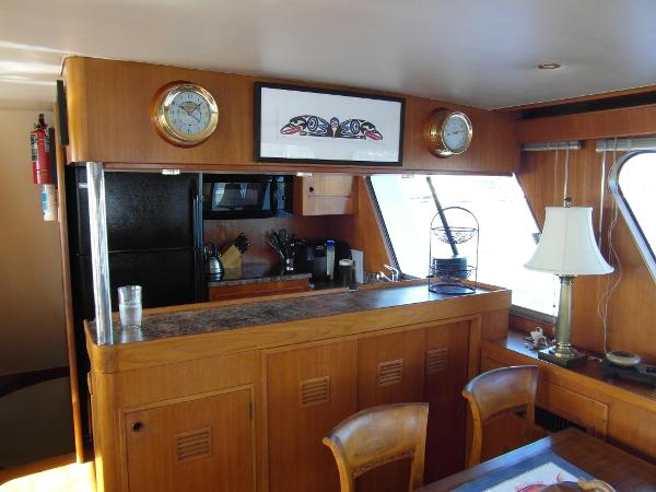 Saloon Facing Forward to Galley