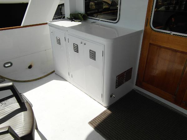 Aft Deck / Cockpit Facing to Port