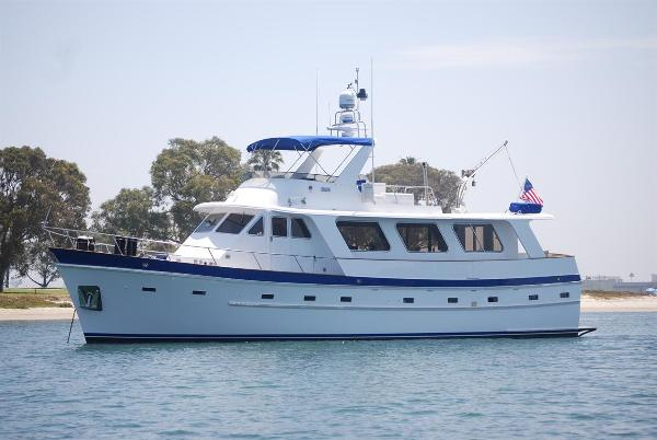 1982 Cheoy Lee 55' Long Range Cruiser / Trawler