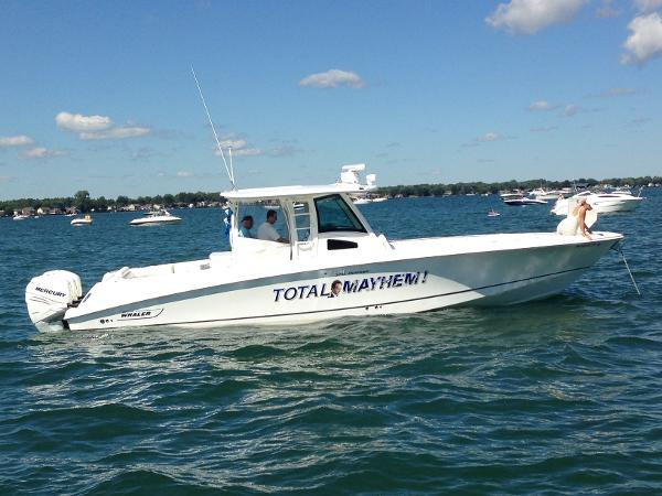 Boston Whaler 370 Outrage ON THE WATER