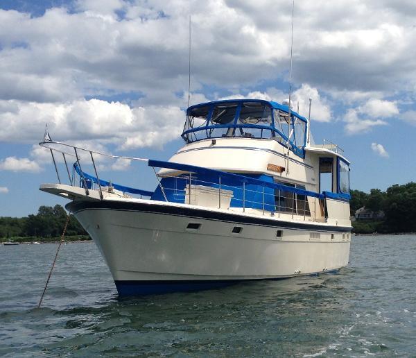 Atlantic sundeck motoryacht