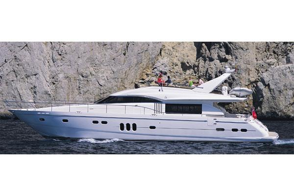 Princess 23M Manufacturer Provided Image: Exterior View 1