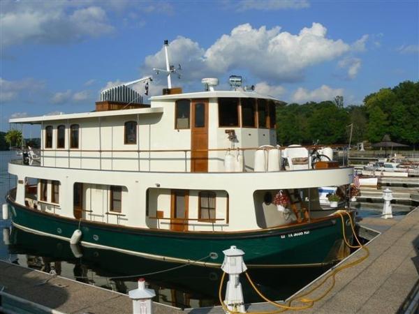 Custom Friday Harbor Ferry Trawler