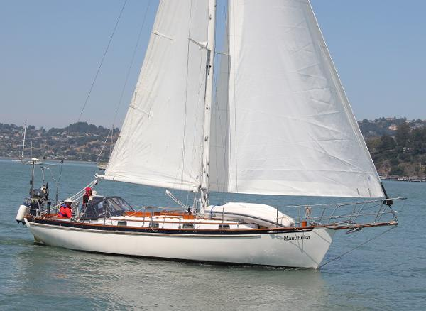 Cape George sloop Under sail in San Francisco