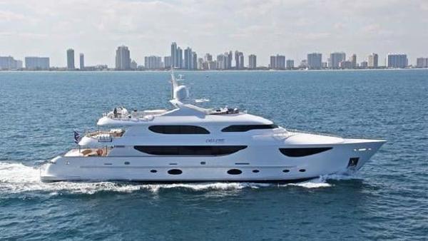 Hargrave Tri-deck Motor Yacht