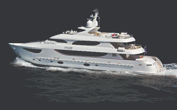 Hargrave Tri-deck Motor Yacht
