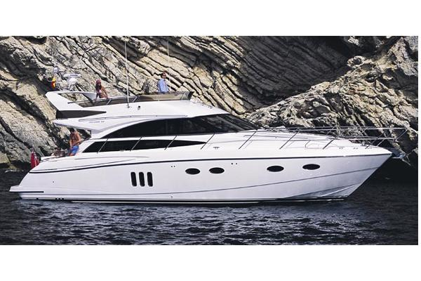 Princess 54 Flybridge Manufacturer Provided Image
