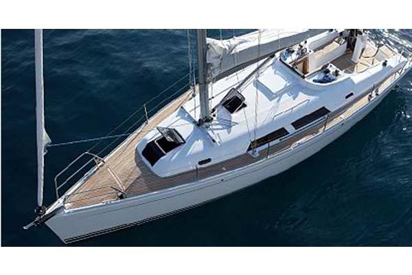 Hanse 370 Epoxy Manufacturer Provided Image