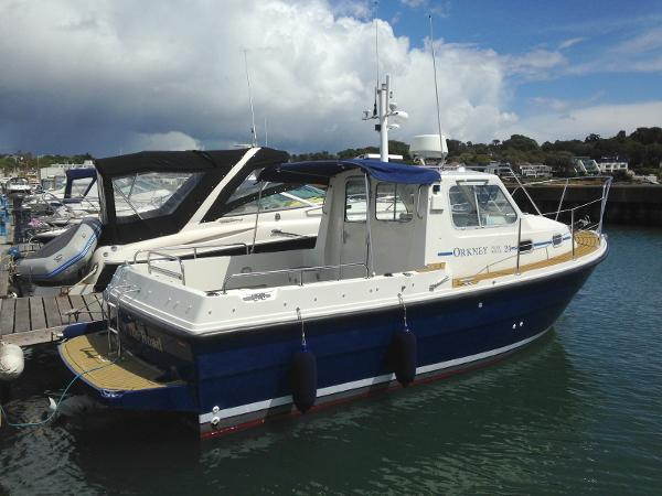 Orkney Boats Pilot House 24 Orkney Pilot House 24