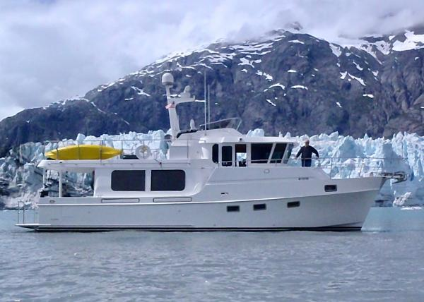 Ocean Alexander 50 Classico LRC Cruising in her element