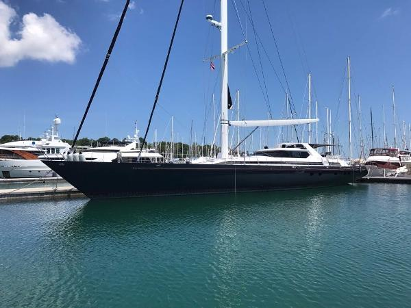 125ft Dubois Sailing Yacht 125ft Dubois-Mooring in Marina