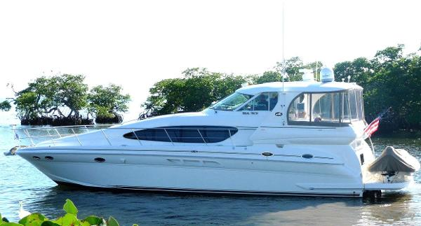 Sea Ray 480 Motor  Yacht TRIAL TECH