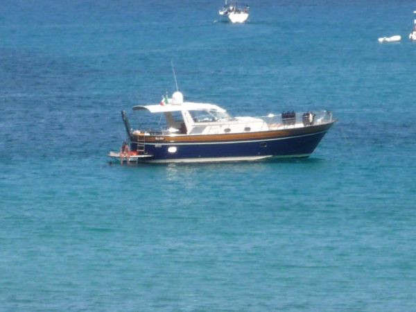 Apreamare motor yacht