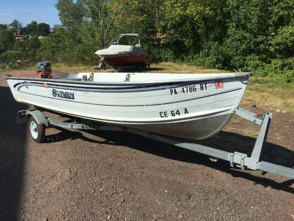 Used freshwater fishing sylvan boats for sale for Sylvan fishing boats