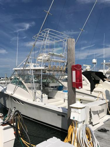 Luhrs 36 Open At the Dock