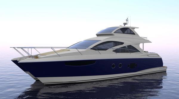 Mares 65 Catamaran Sky Lounge Port Profile