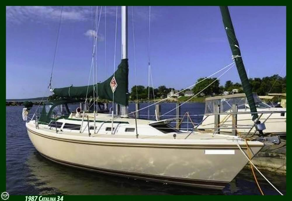 Catalina 34 Tall Rig 1987 Catalina 34 Tall Rig for sale in East Tawas, MI