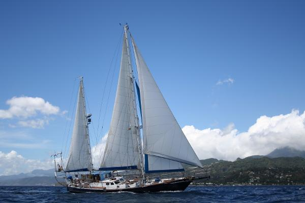 Custom 17.30 m Steel Ketch