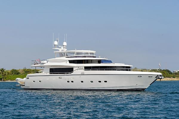 Johnson 87 MOTOR YACHT Profile - CAVALLINO