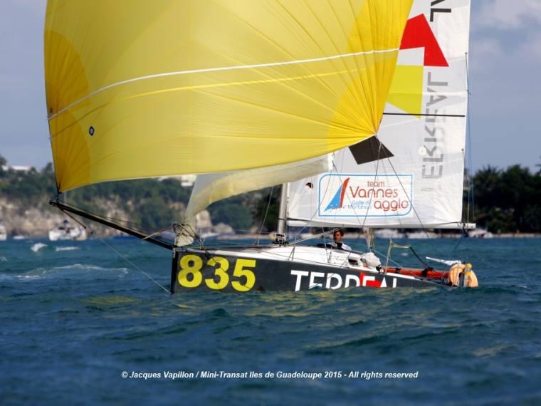 Andres Duran Yachting moldes y planos de minitransat argo 650