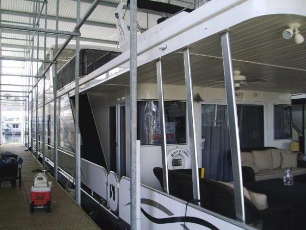 Sharpe 18 x 93 Houseboat