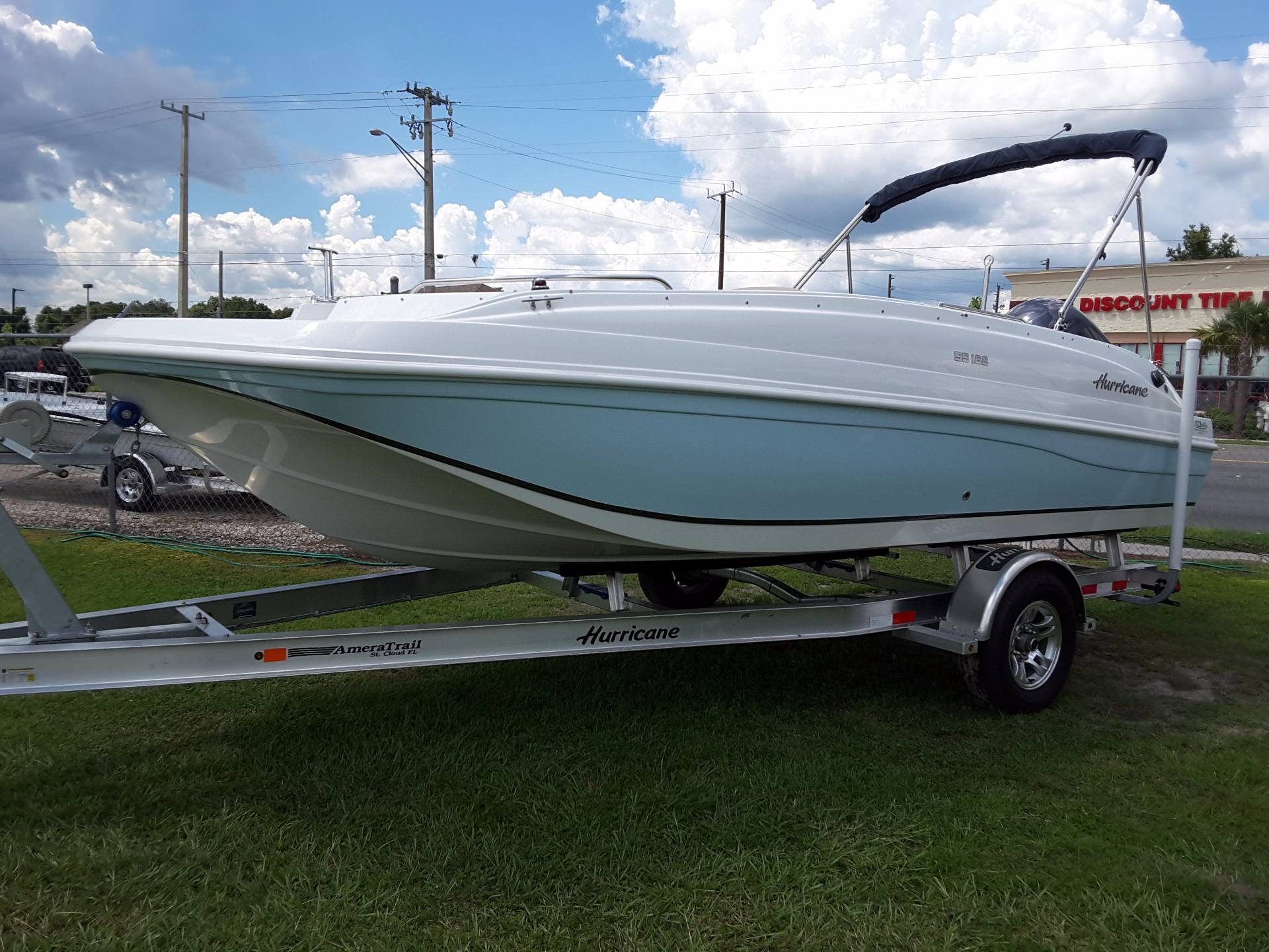 Hurricane sundeck sport 188 ob boats for sale for Hurricane sundeck for sale