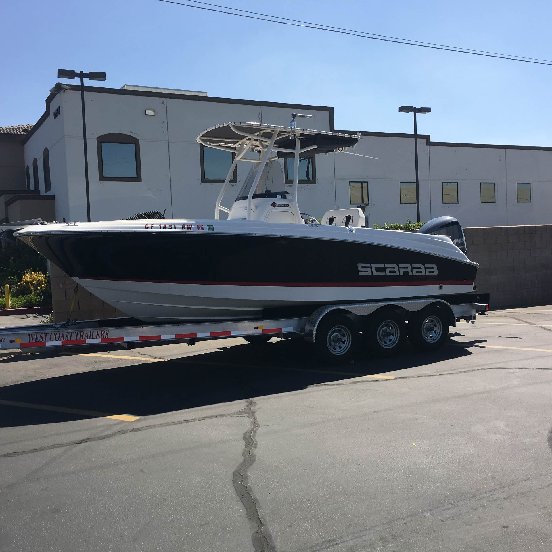 Used center console boats for sale in california united for Outboard motor shop oakland