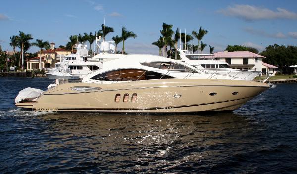 Sunseeker Predator 52 Starboard Profile