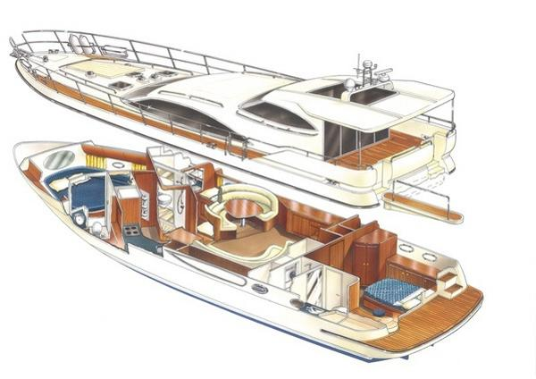 Atlantic 60 Boat Moulds Atlantic 60 artists impression