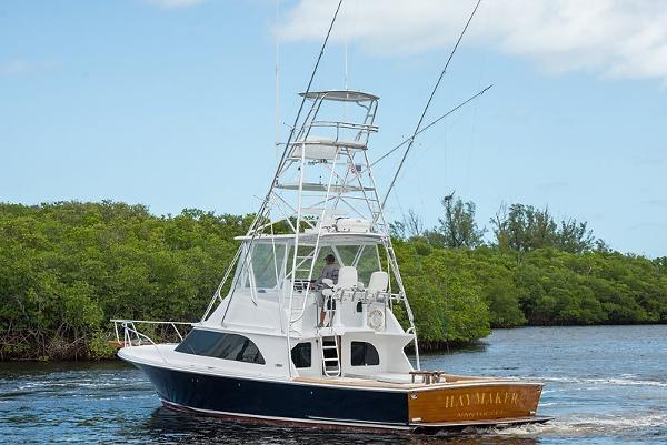 Liberty 42' Convertible Custom Sportfish Haymaker