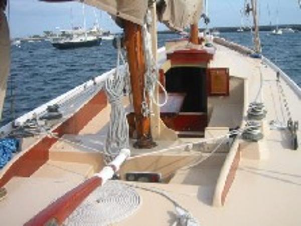 Deck from aft
