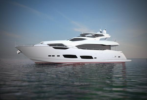 Sunseeker 95 Yacht Manufacturer Provided Image