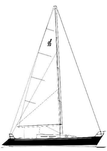 J/39 - Sail Plan