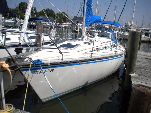 Hunter 34 Port profile