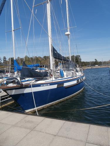 Corbin 39 Port View @ Dock