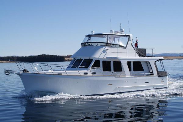 Explorer Motor Yachts 50 Sedan Manufacturer Provided Image: Explorer Motor Yachts 50 Sedan